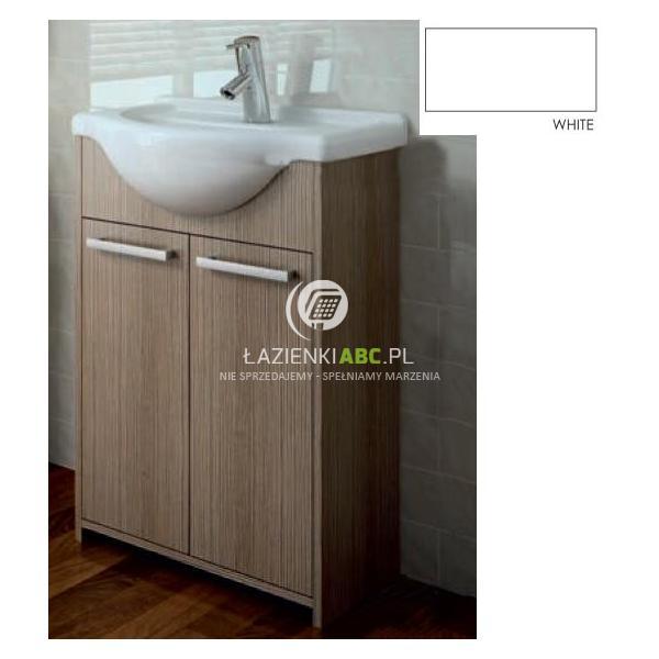 Elita Bahama umywalka z szafką 60cm, biała ITAKA 164574