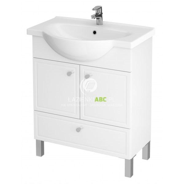 Cersanit SIDO zestaw szafka z umywalką NATI biała 70 cm S801-083-DSM