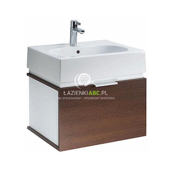 Zestaw łazienkowy Umywalka Z Misą Owalną Z Szafką Podumywalkową