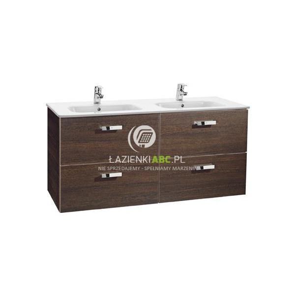 Roca VICTORIA BASIC zestaw szafka z umywalką 120 cm wenge A855850201