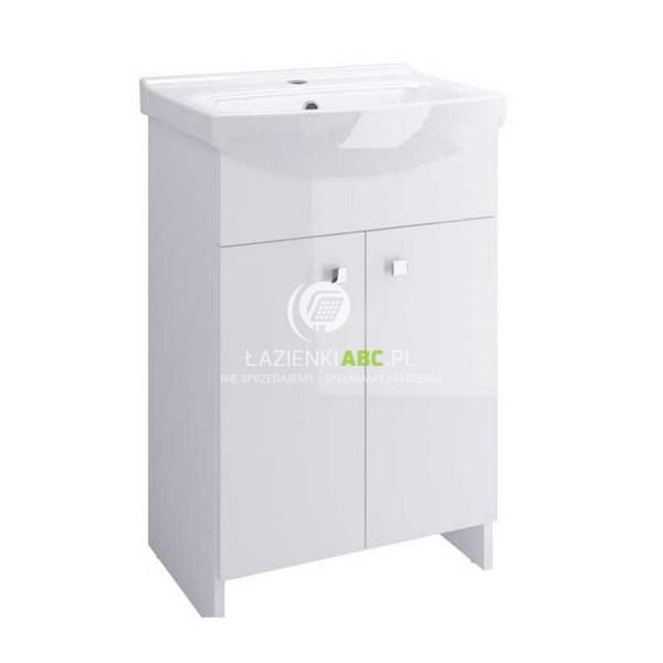 Cersanit SATI umywalka z szafką 50 cm, biała S567-002-DSM