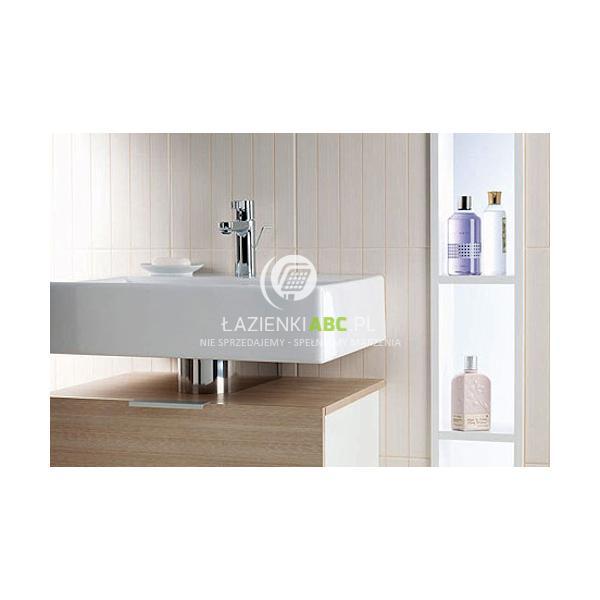 Zestaw łazienkowy Umywalka Misa Owalna 60 Cm Szafka Koło Koło
