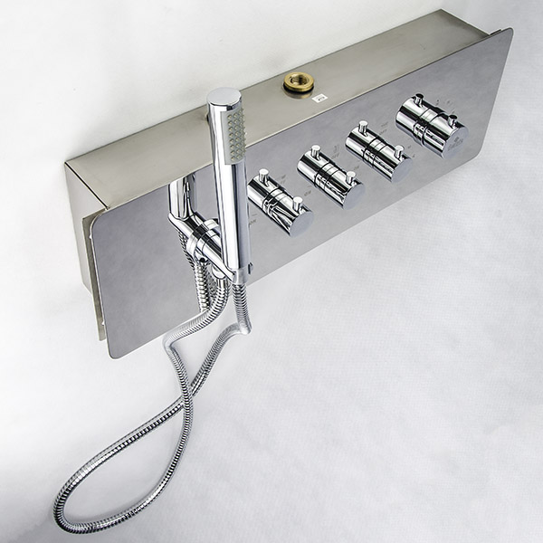 Bateria termostatyczna podtynkowa Deante CASCADA