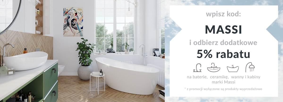 Massi - kabiny prysznicowe, wanny, ceramika