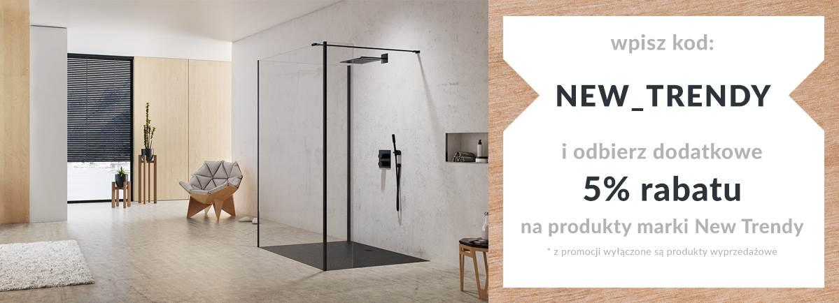 New Trendy - kabiny prysznicowe