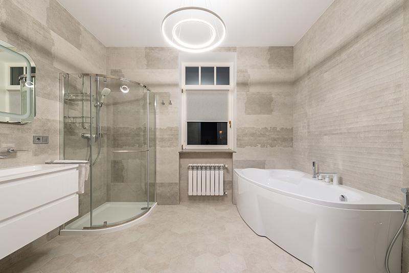 heksagonalne kafle łazienkowe