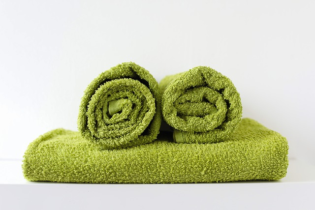zielone dodatki łazienkowe