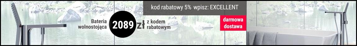 Bateria wolnostojąca GALISA 2089 zł z kodem rabatowym: EXCELLENT