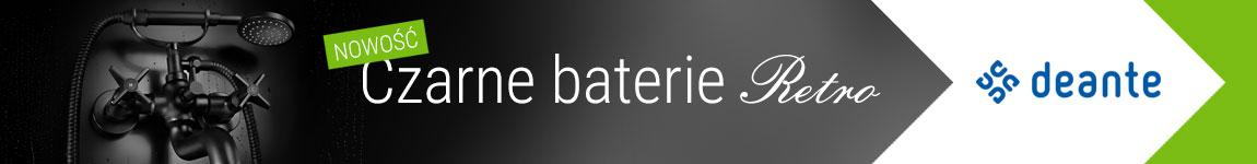 Czarne baterie retro
