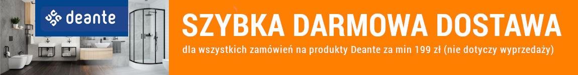 Darmowa dostawa dla produktów Deante za min. 199 zł!