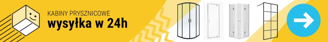 Kabiny, drzwi i ścianki prysznicowe dostępne w 24h! Szybka wysyłka z własnego magazynu!