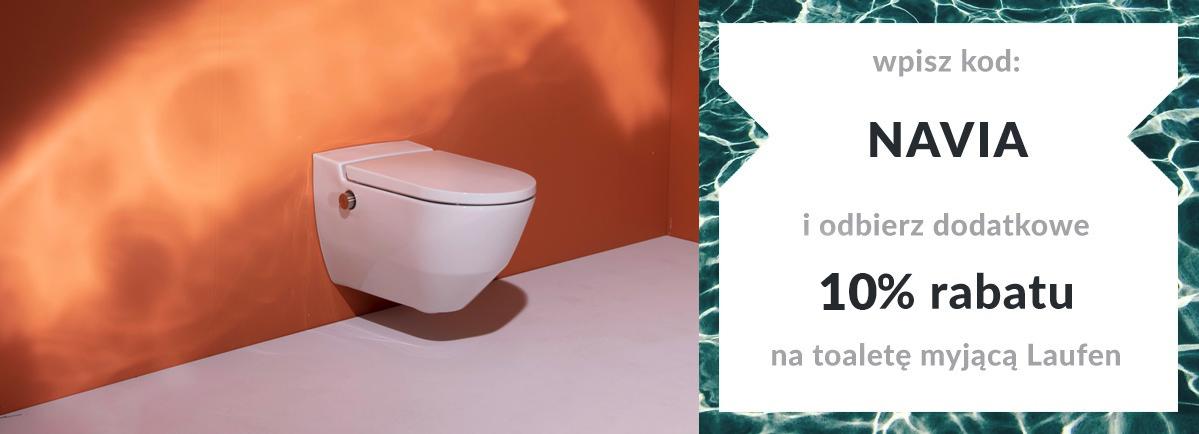 Laufen NAVIA - toalety myjące
