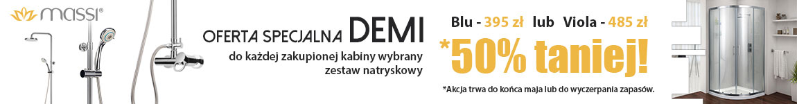 LazienkiABC.pl - Kabina prysznicowa Massi Demi