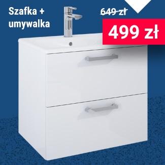 Szafka Elita z umywalką 60 cm za 649 zł