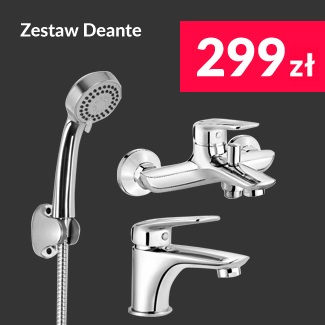 Zestaw Deante Hortensja - 299 zł