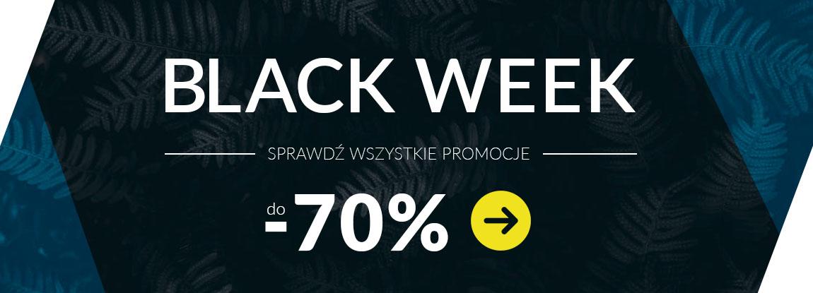 Obniżki cen do -70% z okazji Black Week!
