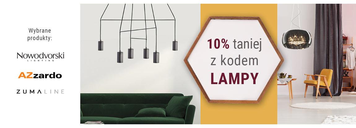 Lampy -10% z kodem rabatowym