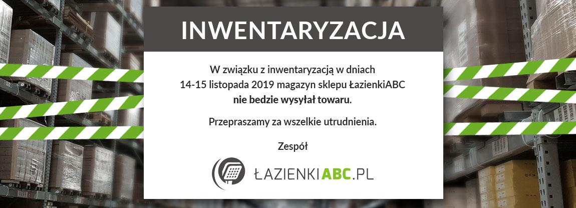 Inwentaryzacja w sklepie LazienkiABC.pl 14-15 listopada 2019