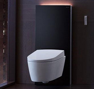 stela do wc stoj cego geberit monolith plus umbra. Black Bedroom Furniture Sets. Home Design Ideas