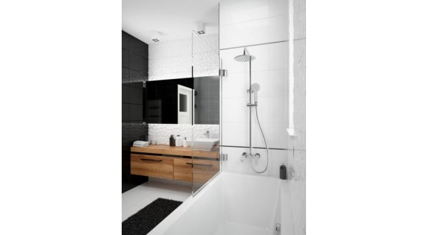 Deszczownia Deante JASKIER - gdy trudno wybrać między wanną, a prysznicem