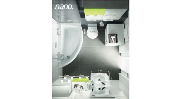 Mała łazienka Wielkie Oczekiwania Cersanit Nano