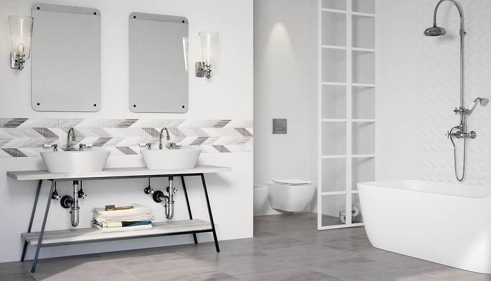 Aranżujemy białą łazienkę na 5 sposobów!