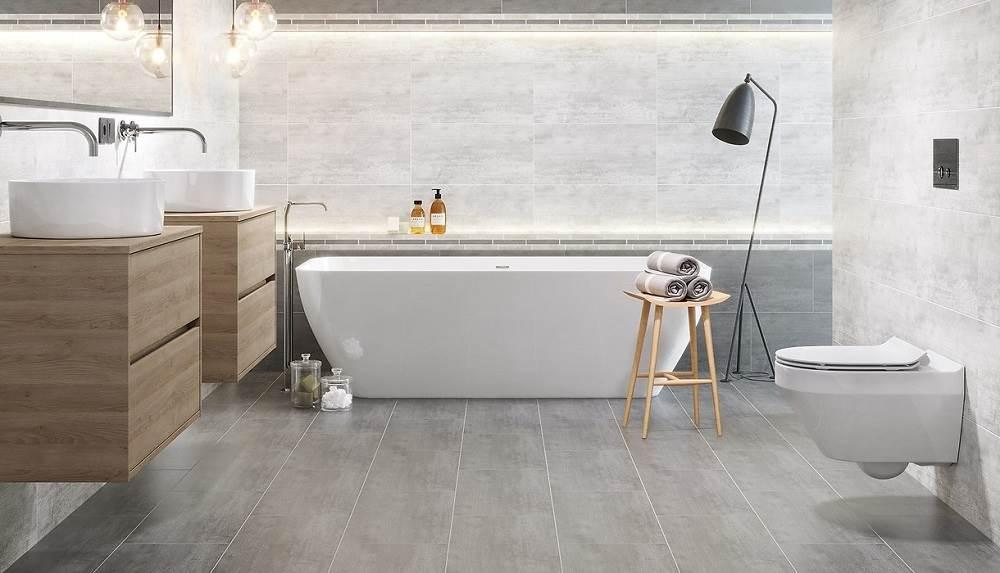 Beton architektoniczny – topowy trend w aranżacji łazienki