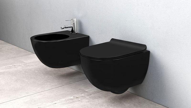 Czarna ceramika łazienkowa - nowy trend w aranżacji łazienki!