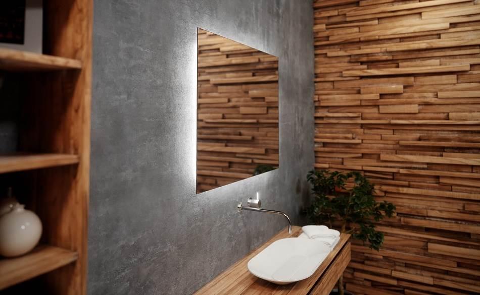 Jak oświetlić lustro w łazience?