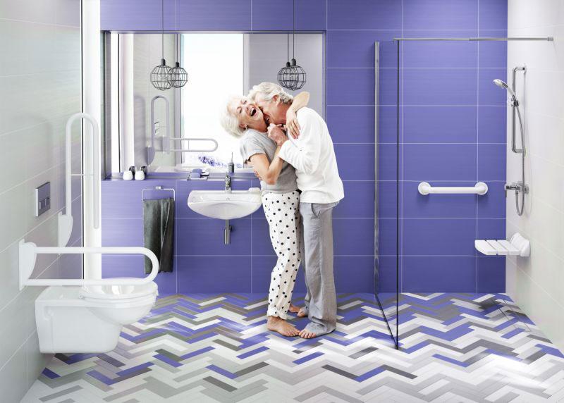 Jak urządzić łazienkę dla seniora?