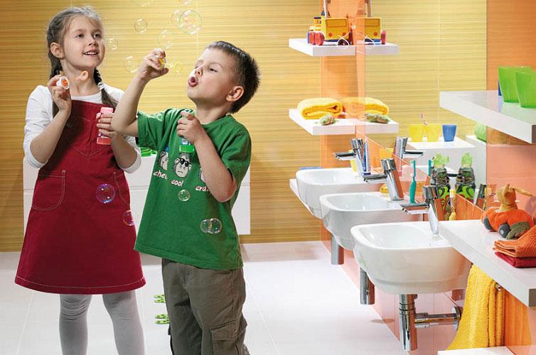 Łazienka dla dzieci – jak ją zaaranżować?