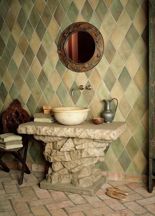 łazienka W Stylu Rustykalnym Aranżacje Od Lazienkiabcpl