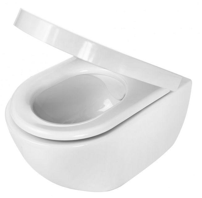 Miska WC PEONIA CDE 62PW - czystość bez rantów