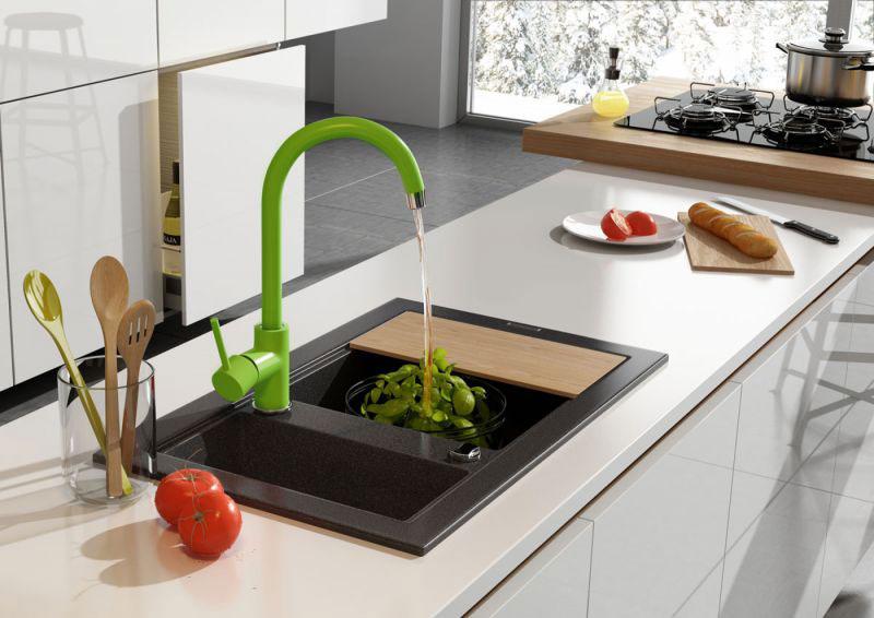 Oszczędność wody, ciekawy design- jak wybrać dobrą baterię do kuchni i łazienki ?