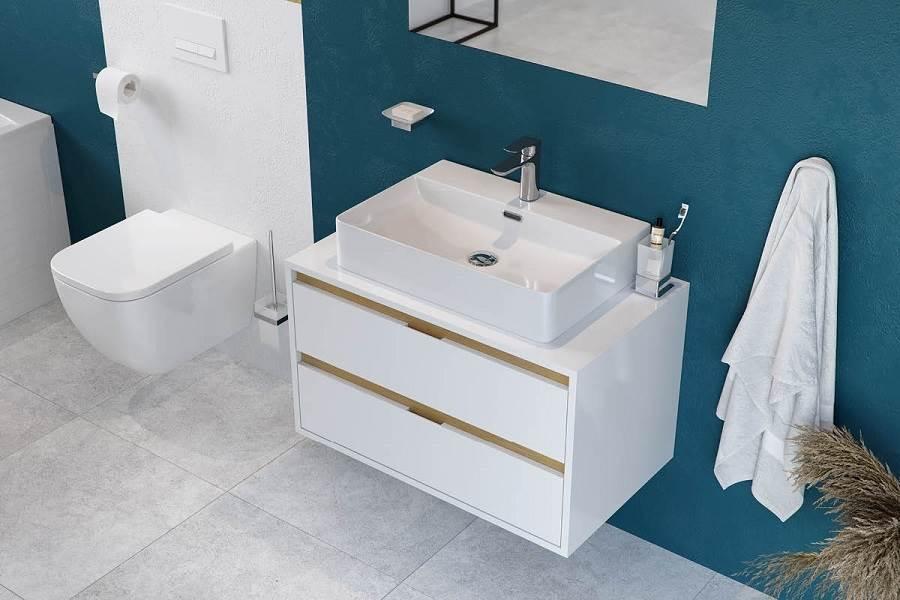 Wybieramy szafki pod umywalkę do małej łazienki!