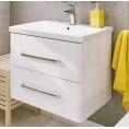 Deftrans  Frenesia szafka z umywalką 65 cm 001-D-06522 + 3092 biała