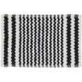 Dywanik łazienkowy 50x80 cm Sealskin MOTIF 294445419 czarny