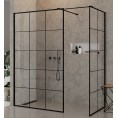 Kabina Walk-In 150x120x200 New Trendy NEW MODUS BLACK EXK-0115