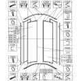 Komplet zaślepek lewe i prawe do kabiny półokrągłej OV-KP4-II/EKO, OV-KP4-II/EKO-S Sanplast EKOPLUS 660-C1224