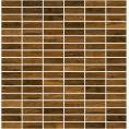 Mozaika bambusowa 297x305 mm mm Midas CHOCOLATE A-BM5X1-R3-XXX kolor R3