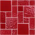 Mozaika szklana 300x300x6 mm Midas STAMBUŁ A-MGL06-XX-006 kolor No.6