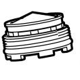 Perlator M18,5 przepływ 1,89 l/min Roca AG0130307R