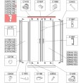 Profil bieżnia prosty Sanplast TX5 660-C2073