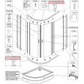 Profil poziomy dolny Sanplast TX5 660-C1715 lewy
