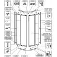 Profil poziomy drzwi dolny/górny kabiny półokrągłej KP4/ASP Sanplast ASPIRA 660-C0453