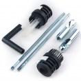Ukryte mocowanie do miski wiszącej bezrantowej Clean Rim GAP Roca AV0027200R / AV0030800R