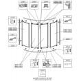 Uszczelka magnetyczna do parawanu nawannowego Sanplast ASPIRA 660-C0395
