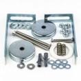 Woreczek montażowy obudowy wanny SENSO (magnesy+zaczepy) Aquaform 052-60010