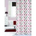 Zasłona prysznicowa tekstylna 180x200 cm Sealskin AMOR 235241359 multi