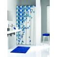 Zasłona prysznicowa tekstylna 180x200 cm Sealskin TANGRAM 235231324 niebieska
